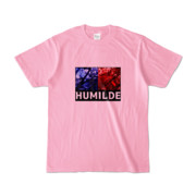 Tシャツ | ピーチ | HUMILDE_Blue&Red