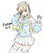 フレッチャーさんとお絵描き練習2
