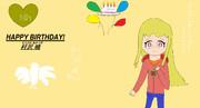 HAPPY BIRTHDAY!村沢 暁(むらさわ あかつき)(遅い)