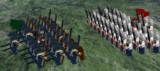 LDDで歩兵の対峙作ってみた。
