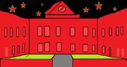 夜の立教大学
