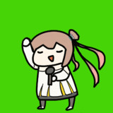 【GIF】ご機嫌なAIシンガーさとうささら