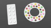 【MMD-OMF11】錠剤と輪投げチョコ