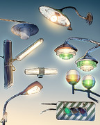 懐かしい街灯たち