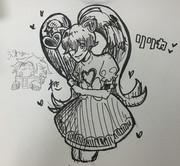 【リアルタイム絵】20分みじかいよーーー!!