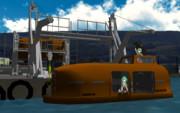 【MMD-OMF11】全閉囲型救命艇MOSACK33P&グラビティダビット【モデル配布】