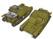 【MMDモデル配布】 イタリア軽戦車 CV33