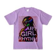 Tシャツ | ライトパープル | AGR_Emotional
