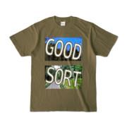 Tシャツ | オリーブ | GS_Park