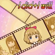 ミリシタGIFアニメ『I did+I will』