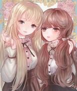 薔薇の少女たち(厚塗り版)
