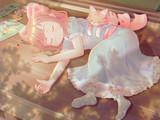 小さな絵師の午睡