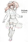 アトランタさんとお絵描き練習5
