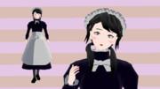 【MMDオリキャラ】海松メイド服【モデル配布】