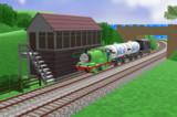 パーシーとミルク運搬車