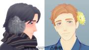 冬と春/MMD