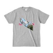 Tシャツ | 杢グレー | Slant_SAKURA