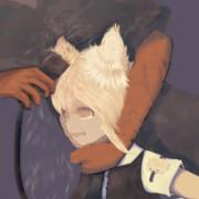 耳毛密猟者に見つかり耳毛を刈られるリランちゃん