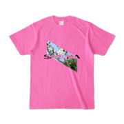 Tシャツ   ピンク   Slant_SAKURA