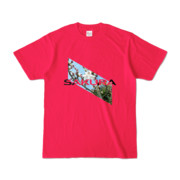 Tシャツ   ホットピンク   Slant_SAKURA