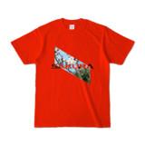 Tシャツ | レッド | Slant_SAKURA