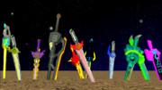MMDで存在する聖剣達2