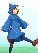 雨がっぱトウカイテイオー