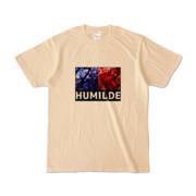 Tシャツ | ナチュラル | HUMILDE_Blue&Red