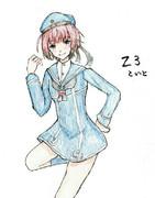 Z3さんとお絵描き練習