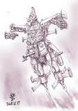 ネオジオン軍試作型NT用MA「アレハ-アボール」