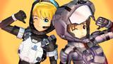 【スターラスターガール】美希と雪歩の宇宙服 2タイプの紹介