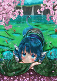姫と桜と湖と