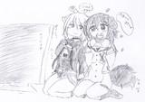 【ホロライブ】おかころ落書き絵14