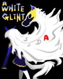 A WHITE GLINT