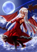 蒼い月紅い蝙蝠