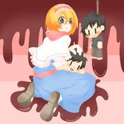 HNS姉貴とIKMN兄貴人形