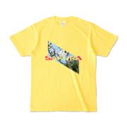 Tシャツ | イエロー | Slant_SAKURA