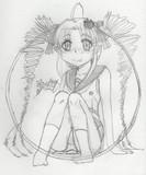 丸円の絵の『ついなちゃん』