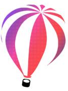 空飛ぶ気球