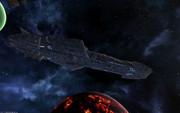 【Avorion】ゼルグート級一等航宙戦闘艦ドメラーズIII世 その3 艦底部のスラスター