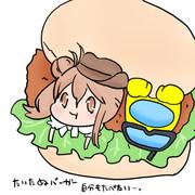 たいたぬバーガー