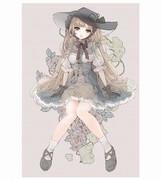 帽子姫(水彩版)