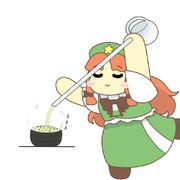 華麗にお茶漬けを作る美鈴