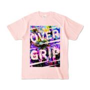 Tシャツ | ライトピンク | OverGrip巻いてますか?