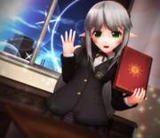 エイミちゃんと 学園で お勉強…♪