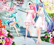 【今日のYYBルカさん】綺麗な桜と かわいいおみあしぃ…♡