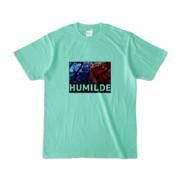 Tシャツ | アイスグリーン | HUMILDE_Blue&Red