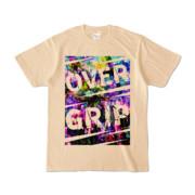Tシャツ | ナチュラル | OverGrip巻いてますか?