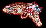 ★進化する銃『でりムゾン』