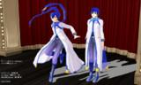 V3パケ絵と、立ってる(KAITO)